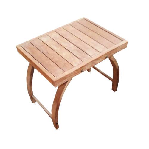 Halfmoon Leg End Table
